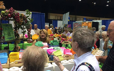 Crowd at Home Show Booth 2