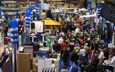 Crowd at East Coast Consumer Home Show